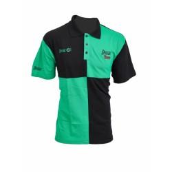 Polo Harlequin Groen & Zwart