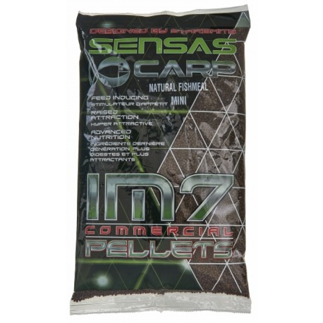 Sensas IM7 Extruded Pellets Natural Fishmeal