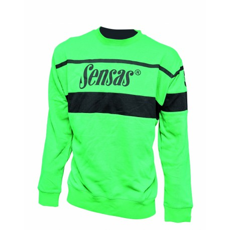 Sensas Sweater Club Groen & Zwart
